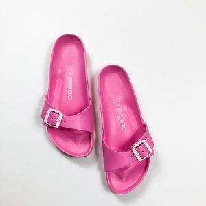 Birkenstock Madrid EVA Pink Single Strap Sandals